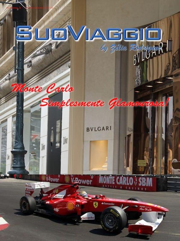 imagem da capa da revista digital SuoViaggio edição Monte Carlo