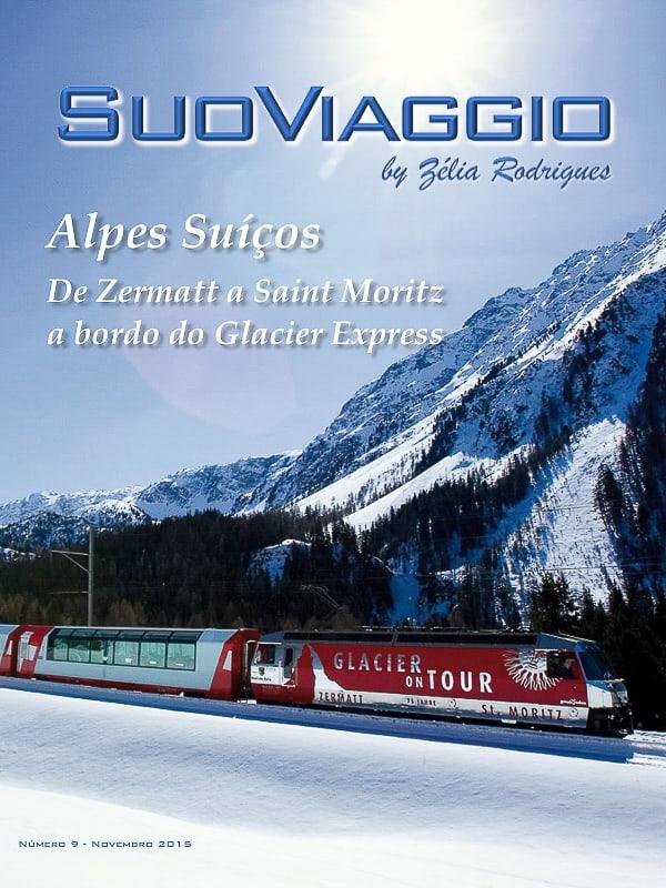 Alpes Suíços De Zermatt a Saint Moritz a bordo do Glacier Express